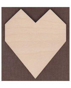 WT1245-Laser cut Chunky Heart