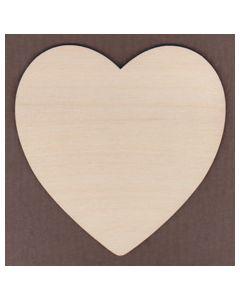 WT1261-Laser cut wide Round Heart