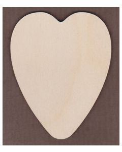 WT1252-Laser cut Round Heart