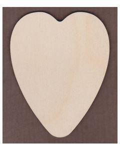 WT1254-Laser cut round Heart