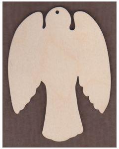 WT1263-Laser cut Angel Ornament