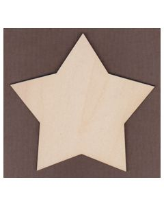 WT1290-Laser cut Pointed Country Star
