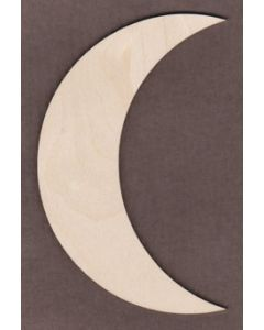 "WT1210 Crescent Moon  6"" tall x 3 3/4"" wide"