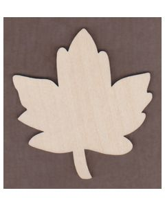 WT1528-Laser cut Old Fashioned Maple Leaf