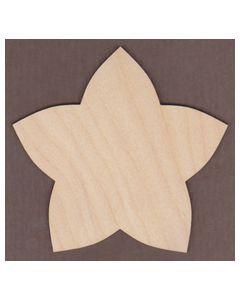 WT1898-Laser cut Puffy Star