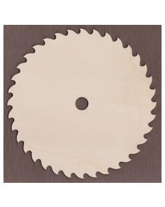 "WT1394-Laser cut 7 1/4"" Circular Saw Blade"