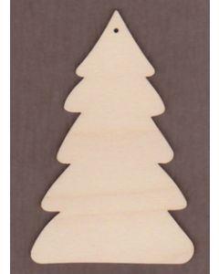WT1456-Laser cut Winter Tree