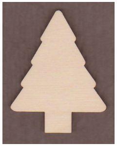 WT1471-Laser cut Evergreen Tree