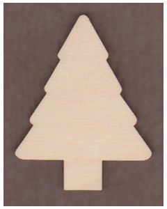 "WT2539-Laser cut Tree-1 1/4"" tall-Bag of 25 Only"