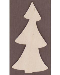 WT1464-Laser cut Tall Spruce Tree
