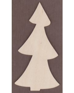 WT1466-Laser cut Tall Spruce Tree