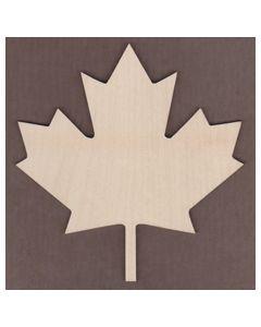 WT1546-Laser cut Canadian Maple Leaf
