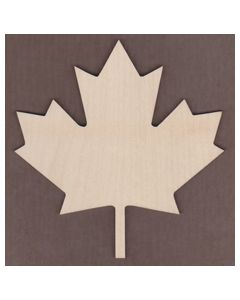 "WT2533-Laser cut Maple Leaf-1"" tall-Bag of 25 Only"
