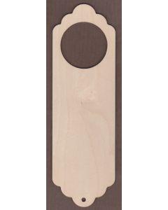WT1676-Laser cut Door Hanger-Large-bumpy