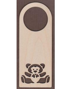 WT1656-Laser cut Door Hanger-Big Bear