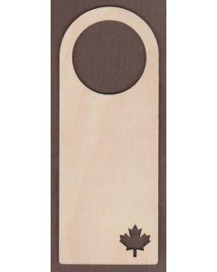 WT1663-Laser cut Door Hanger-Maple Leaf