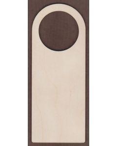 WT1654-Laser cut Door Hanger-Plain