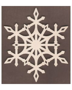 WT1909-Laser cut Diamond Scroll Snowflake