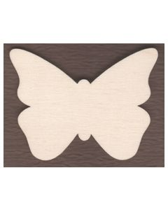 "WT2532-Laser cut Butterfly-3/4"" tall-Bag of 25 Only"