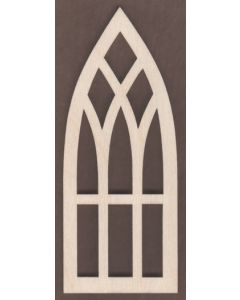 """WT1821-1 Window-Church-10"""" tall x 4"""" wide"""