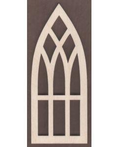 """WT1821-2 Window-Church 2.5"""" tall x 1"""" wide"""