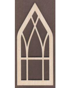 WT1825-Laser cut Window-Church-Narrow
