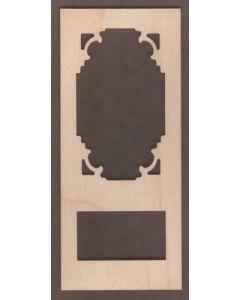 WT1837-Laser cut Door-Screen-Corner Bracket-Scroll