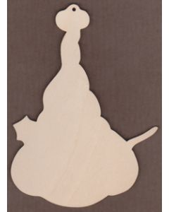 WT1874-Laser cut Tall Red Hat Snowman From Renee Mullins Winter Spice