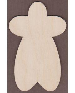 WT2001-Laser cut Gingerbread Man
