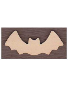 """WT2300-1 Laser cut Bat 7"""" wide x 3"""" tall"""