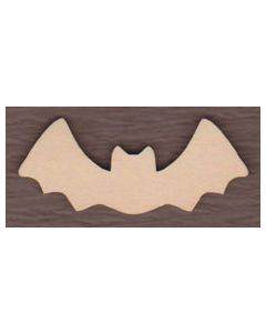"WT2538-Laser cut Bat 1 1/8"" wide-Bag of 25 Only"