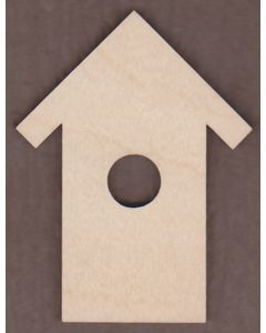 "WT2535-Laser cut Birdhouse-1"" tall-Bag of 25 Only"