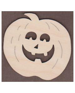 """WT2291-2 Pumpkin Face 6"""" tall x 6 1/2"""" wide"""
