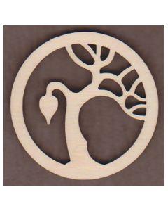 WT1984-Laser cut Tree of Life Ornament