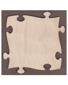 """WT2250-Puzzle Piece-11"""" tall x 11"""" wide"""