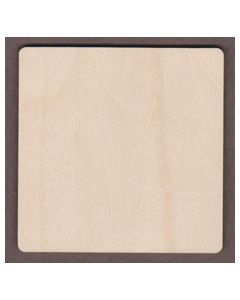 "WT2362-1 Square-Small Round Corner-4"" square"