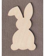 "WT5001 Floppy Ear Easter Bunny  4"" tall x 2 1/4"" wide"