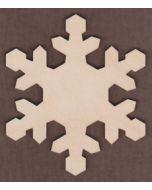 WT1200-Laser cut Arctic Snowflake
