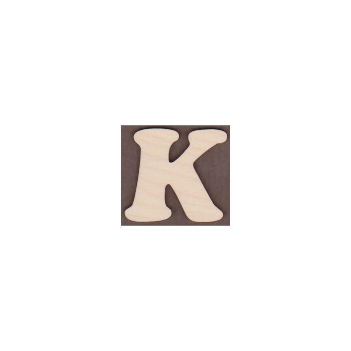 Laser cut Letter K