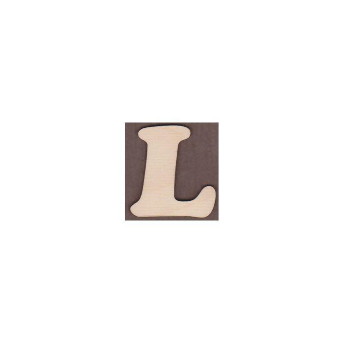 Laser cut Letter L