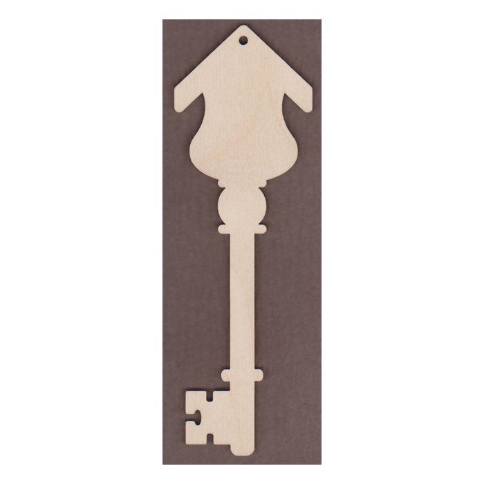 WT2667 Laser cut Decorative Key-Birdhouse