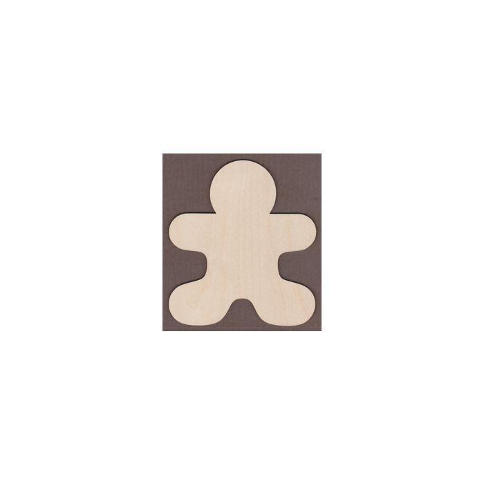 WT9329-Laser cut Gingerbread Man-5 1/2