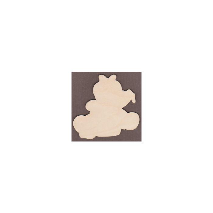 PHD016-Messy Cupcake Ginger Girl