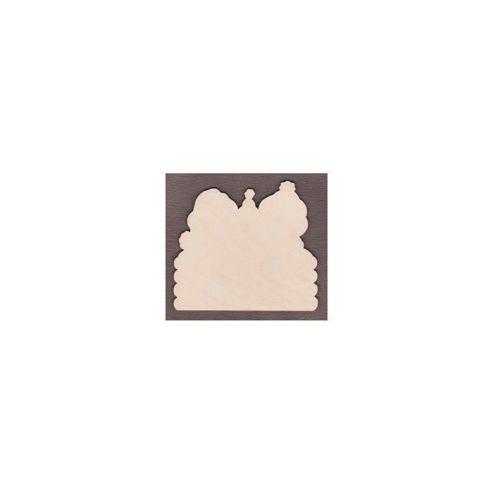 PHD239-1  A Gingerbread Christmas Shelf Sitter