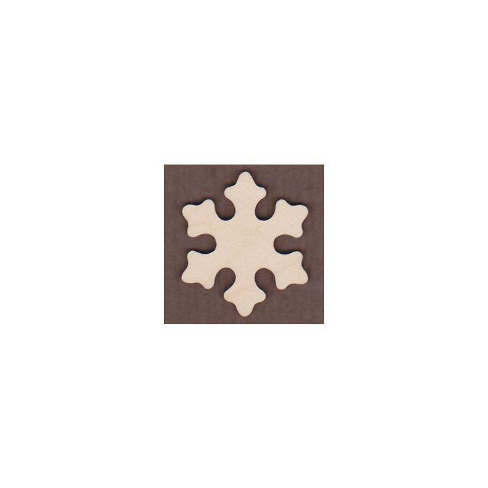 WT1079-Laser cut Aspen Snowflake