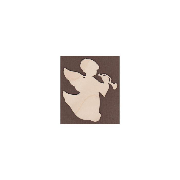 WT1003-Laser cut Jamie Mills-Price Angel with Bugle
