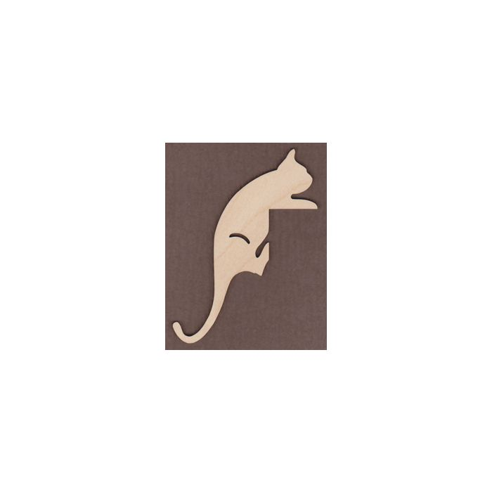 WT1038-Laser cut Climbing Cat