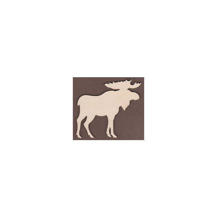 WT1071-Laser cut Moose