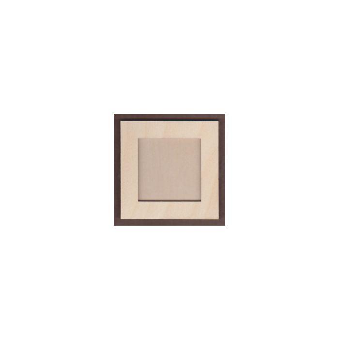 WT1097-Laser cut Square 2 piece Frame Kit