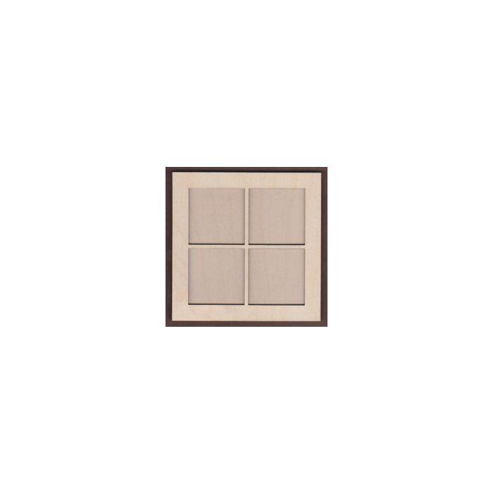 WT1103-Laser cut Window 2 piece Frame Kit  Small